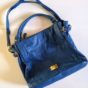 EUC Nine West Blue Hobo Bag
